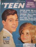 Paul Petersen on the cover of Teen (United States) - October 1962