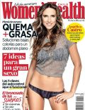 Angelica Castro on the cover of Womens Health (Chile) - February 2014
