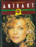 Michelle Pfeiffer on the cover of Antrakt (Turkey) - October 1992