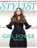 Adele on the cover of Stylist Magazine (United Kingdom) - September 2011