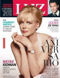 Mariano Martínez, Nicole Kidman on the cover of Luz (Argentina) - December 2013