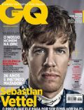 Sebastian Vettel on the cover of Gq (Brazil) - November 2013