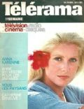 Catherine Deneuve on the cover of Telerama (France) - November 1975