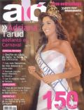 Adriana Tarud on the cover of Alo (Colombia) - November 2004