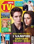 Kristen Stewart, Robert Pattinson on the cover of Di Pi TV (Italy) - November 2009