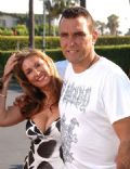 Tanya Terry and Vinnie Jones