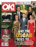Jared Leto, Leonardo DiCaprio, Matthew McConaughey, Meryl Streep, Sandra Bullock on the cover of Ok (Romania) - February 2014