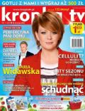 Daria Widawska on the cover of Kropka TV (Poland) - May 2013