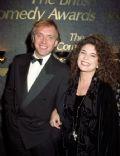 Rik Mayall and Barbara Robbin