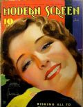 Norma Shearer on the cover of Modern Screen (United States) - June 1934