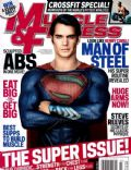 Henry Cavill on the cover of Muscle and Fitness (United States) - July 2013