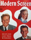 Frank Sinatra, June Allyson, Van Johnson on the cover of Modern Screen (United States) - January 1946