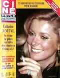 Catherine Deneuve on the cover of Cine Revue (France) - July 1981