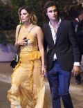 Mischa Barton and James Abercrombie (fashion model)
