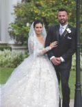Jenni Farley and Roger Mathews