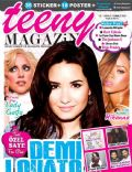 Demi Lovato, Lady Gaga, Rihanna on the cover of Teeny (Turkey) - July 2013