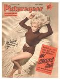 Jayne Mansfield on the cover of Picturegoer (United Kingdom) - July 1955