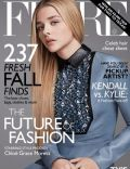 Chloë Grace Moretz on the cover of Flare (Canada) - September 2014