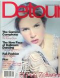 Renée Zellweger on the cover of Detour (United States) - September 1998