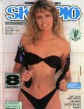 Licia Colò on the cover of Skorpio (Italy) - November 1987