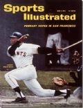 Willie Mays on the cover of Sports Illustrated (United States) - June 1962