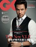Mark Wahlberg on the cover of Gq (Japan) - September 2014