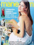 Ana Hickmann on the cover of Manequim (Brazil) - September 1997