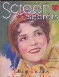Sue Carol on the cover of Screen Secrets (United States) - November 1929