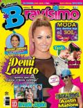 Demi Lovato on the cover of Bravisimo (Venezuela) - February 2013