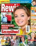 Malgorzata Socha, Piotr Adamczyk, Weronika Rosati on the cover of Rewia (Poland) - September 2013