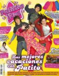 Gastón Soffriti, Laura Esquivel, Nicolas Zuviria, Thelma Fardín on the cover of Patito Feo (Argentina) - June 2007