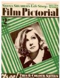 Greta Garbo on the cover of Film Pictorial (United Kingdom) - October 1934