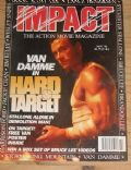 Jean-Claude Van Damme on the cover of Impact (United Kingdom) - November 1993