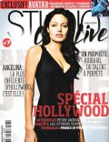 Angelina Jolie on the cover of Studio Cine Live (France) - September 2009