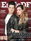 Eleazar Gómez, Paulina Goto on the cover of Estilo Df (Mexico) - January 2014