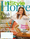 Andie MacDowell on the cover of Instyle Home (United States) - March 2005