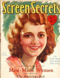 Janet Gaynor on the cover of Screen Secrets (United States) - August 1928