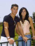 Marina Rodríguez and Cristiano Ronaldo