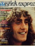 Roger Daltrey on the cover of Musiek Espres (Germany) - December 1970