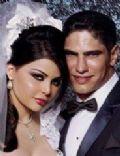 Haifa Wehbe and Ahmed Abo Hashimeh