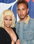 Nicki Minaj and Lewis Hamilton