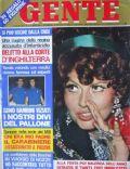 Gente Magazine [Italy] (4 July 1974)
