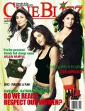 Kareena Kapoor, Katrina Kaif, Priyanka Chopra on the cover of Cineblitz (India) - January 2013