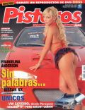 Evangelina Anderson on the cover of Pisteros (Argentina) - January 2006