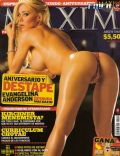 Evangelina Anderson on the cover of Maxim (Argentina) - August 2006