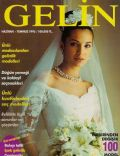 Eysan Özhim on the cover of Gelin (Turkey) - July 1995