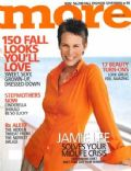 Jamie Lee Curtis on the cover of More (United States) - September 2004