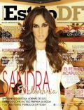 Sandra Echeverría on the cover of Estilo Df (Mexico) - May 2014