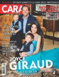 Joyce Giraud, Michael Ohoven on the cover of Caras (Puerto Rico) - April 2014