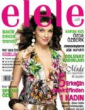 Özge Özberk on the cover of Elele (Turkey) - March 2006